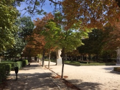 Entrance to Retiro Park, Madrid