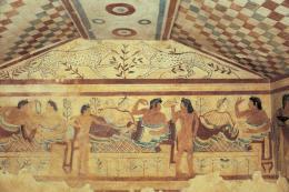 Tarquinia Tomb